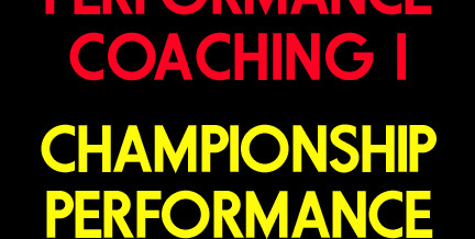 Championship Performance Coaching Volume 1 and 2 Package